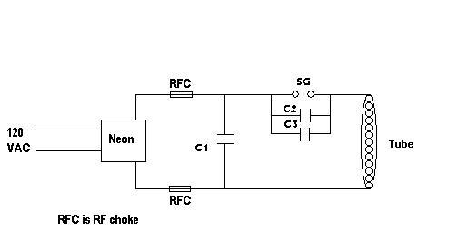 tesla > astrod circuit diagram · capacitor construction